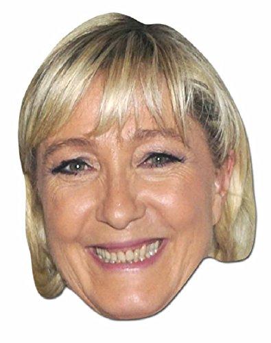 Manuel Valls Kostüm - Star Einbauöffnungen sm254Marine Le Pen Maske (Standard)