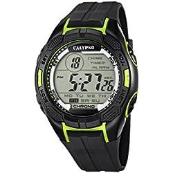 Calypso watches Herren-Armbanduhr XL K5627 Digital Quarz Plastik K5627/4