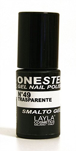 ONE STEP - Gel Nail Polish. Smalto Gel - Tonalità: Trasparent
