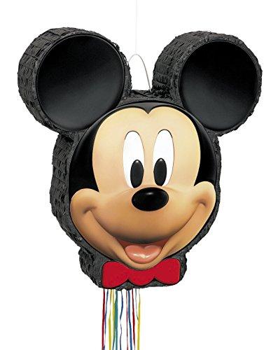 Unique Party Supplies / Zugband-Piñata Mickey Maus (Mickey Pinata)