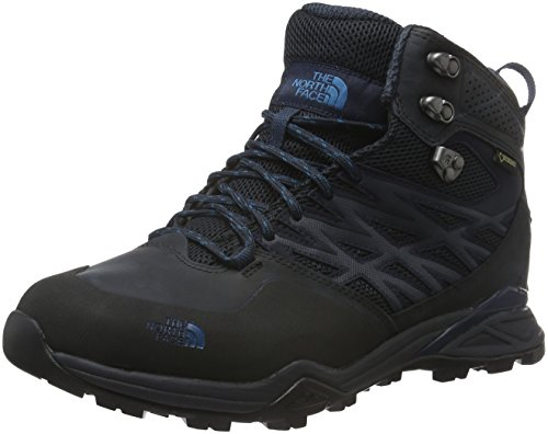 The North Face M Hedgehog Hike Mid Gtx, Sneakers basses homme Gris (Phantom Grey/blue)