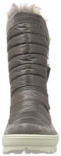 Legero - Novara, Stivali a metà gamba con imbottitura pesante Donna Grigio (Grau (Ematite 88))