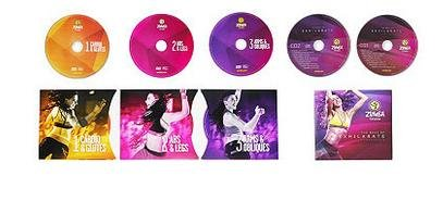 Zumba® Fitness Set: 3 DVD + 2 Fitness CD im Set, »Target Zones + Best of EXHILARATE SOUNDTRACK«