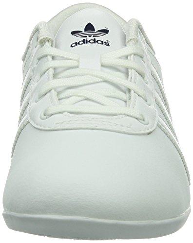 adidas Originals Nuline Damen Sneakers Weiß (Running White/Running White/New Navy/St Dark Slate f13)