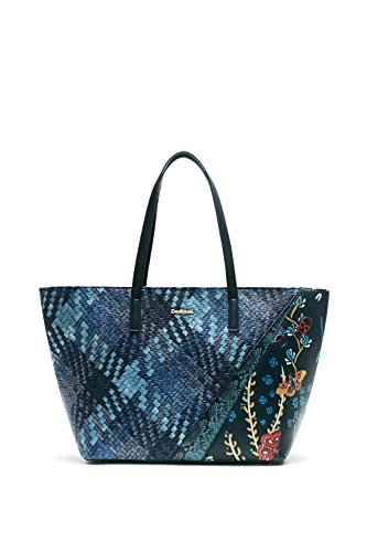 Desigual Bols S.Francisco Winter Stripe Reflecting Pond