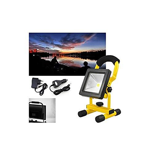 VINGO® 10W Akku LED Baustrahler Tablette Arbeitsleuchte Flutlicht Scheinwerfer Tragbare Beleuchtung Kaltweiß Outdoor