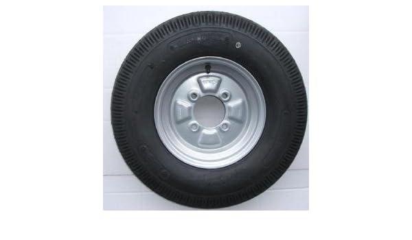 "500x10 High Speed Trailer Wheel /& Tyre 6 ply 4/"" PCD"