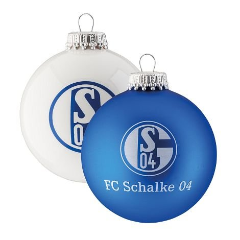 FC Schalke 04 Weihnachtskugeln 4er Pack