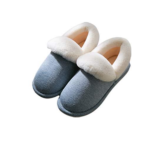 Fenical pantofole calde da 1 paio di pantofole calde antiscivolo per interno esterno