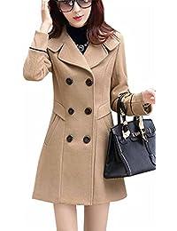 4bf665d0 Amazon.es: chaqueta militar mujer - Trenca: Ropa