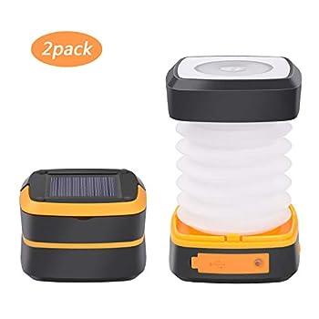 LED Luz Solar Linterna...