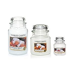 YANKEE CANDLE Duftkerze im Glas, Duft: Fireside Treat