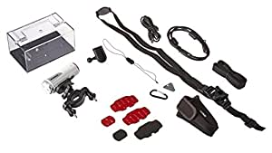 Polaroid XS100i Wi-Fi Extreme Edition HD 1080p 16MP impermeabile per sport d'azione Video Camera Completa - incluso Kit di montaggio