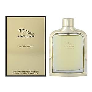 Jaguar Classic Gold Eau de Toilette Vaporisateur pour Homme 100 ml