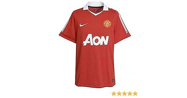 89a6695e476 2010 - 11 Man Utd Home Shirt (+ Your Name) - Kids
