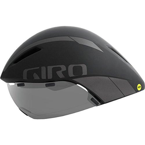 Giro Erwachsene Aerohead MIPS Fahrradhelm, Black/Titanium, L