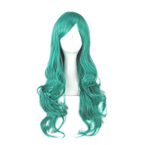 CoolChange Hochwertige Sailor Moon Perücke, Sailor Neptune, Michiru Kaio