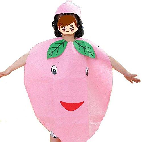 Imagen de niños frutas verduras y naturaleza disfraces disfraces chicos y chicas melocotón