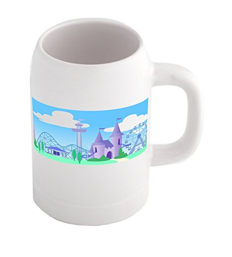 beer-mug-with-fancy-theme-park-under-the-sky