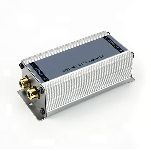 maxxcount Premium Entstörfilter Massetrennfilter (2-Kanal / Cinch) NF-Trennübertrager   Ground Loop Isolator   Mantelstromfilter   Stereo-Line-Übertrager
