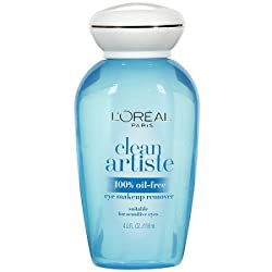 LOreal Paris Clean Artiste Oil Free Eye Makeup Remover