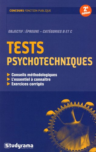 Tests psychotechniques par William Seck