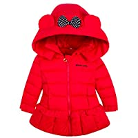 AnKoee Girls Winter Autumn Butterfly Hood Outwear Baby Girl