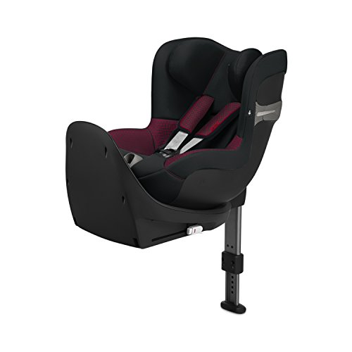 CYBEX Gold Scuderia Ferrari Sirona S i-Size Car Seat with 360° Swivel Mechanism and ISOFIX, From Birth to approx. 4 Years, Up to Max. 105 cm Height, Victory Black