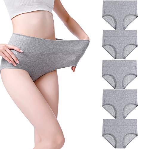 wirarpa Damen Unterhosen Baumwol...