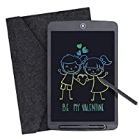 LCD Writing Tablet, 12 Inch Digital Ewriter Colorful Electronic Graphics Tablet Portable Mini Writing Board Handwriting Doodle Pad Drawing Tablet Memo Notebook for Kids Adult Home School Office