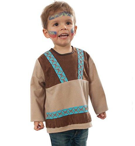 Kleinkind Kostüm Indianer Kleiner Bär (86)