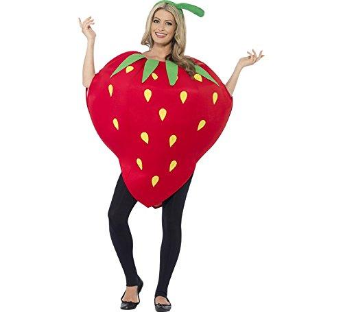 Smiffy's Disfraz de Fresa para Adultos