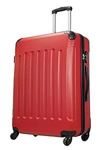 Avalon rouge taille XL Carbon/ABS rigide Valise à roulettes en polycarbonate Case FA. Valise bowatex