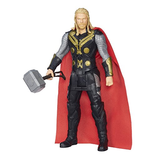 Marvel Avengers Age of Ultron Titan Hero Tech Captain Thor Figur (Englische Sprache) - Figur Action Thor