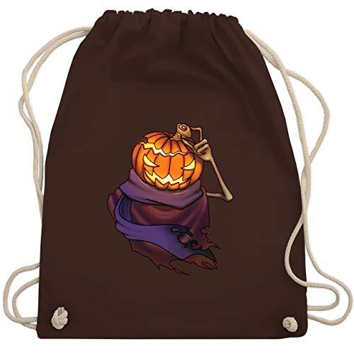 Halloween - Kürbiskopf - Unisize - Braun - WM110 - Turnbeutel & Gym Bag