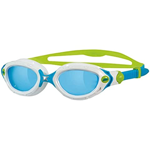 Zoggs Predator Flex - Gafas de natación, color Blanco (White/Blue/Green)