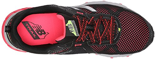New Balance Women's WT610V5 Trail Shoe, Black/Pink, 10 D US Black/pink