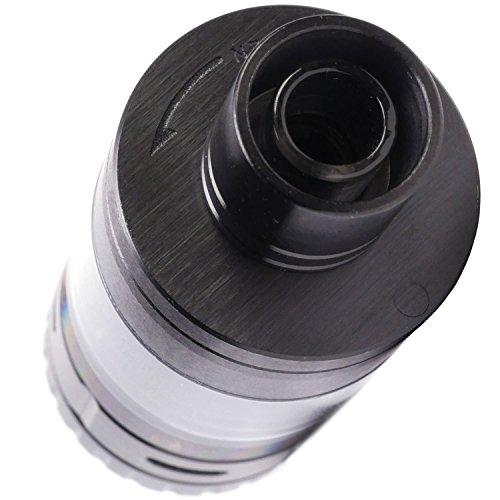 SMOK TF-RDTA S2 Tank Clearomizer 24.5 mm Durchmesser, Selbstwickler, silber, 5 ml