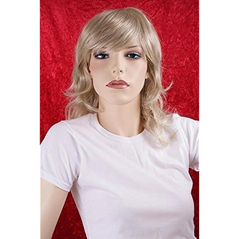 Parrucche Donne lunghezza della spalla bianco /