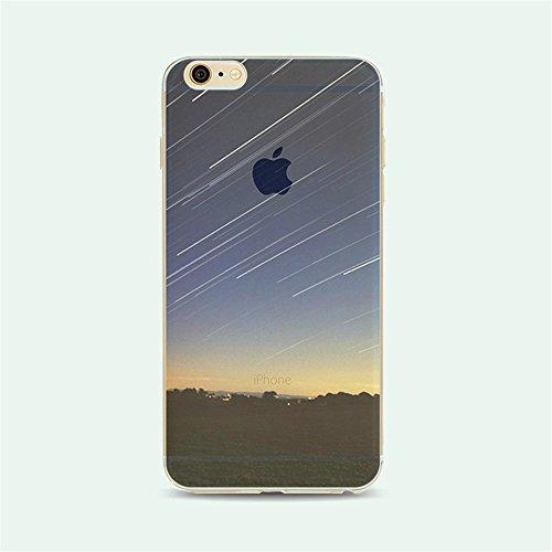 """Coque iPhone 6 6S 4.7"""" Bumper, TKSHOP Etui Housse pour iPhone 6 6S Case Ultra-slim Mince Couverture Souple Doux TPU + PC 2 in 1 Hybride Plastique Silicone Couvrir Transparent Anti-rayures et Anti Choc Mutif 13"""
