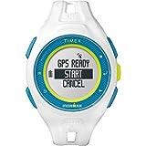 Orologio Timex TW5K95300 Run X20 Bianco Digitale GPS Ironman