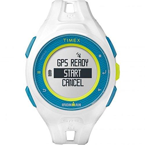 Uhrenarmband Timex tw5K95300Run x20weiß Digitaler GPS Ironman