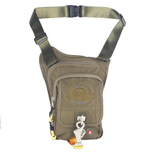 innturt Tactical Multifunktions-Werkzeug Gun Holster Tasche Bein Tasche Fanny Pack Taille Pack Tasche L grün (Fanny Pack Holster)