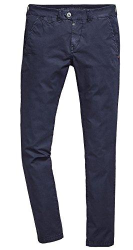 Timezone Herren Chino Hose Janno - Slim Fit - Blau - Uniform Blue, Größe:W 30 L 32, Farbe:Uniform Blue (3534) Uniform Chino