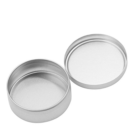 Top-Sell 1Pc Pot Boîtier Boîte Aluminium épice Baume Pommade Maquillage Fard Lèvre Vide Baume Nail Art Pot,15ML