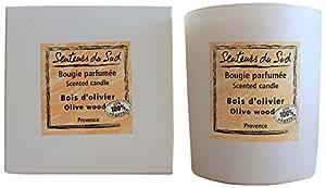 Senteurs du Sud Bougie Parfumée Bois d'Olivier 160 g