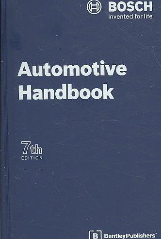 [(BOSCH Automotive Handbook)] [By (author) Robert Bosch GmbH] published on (November, 2008)
