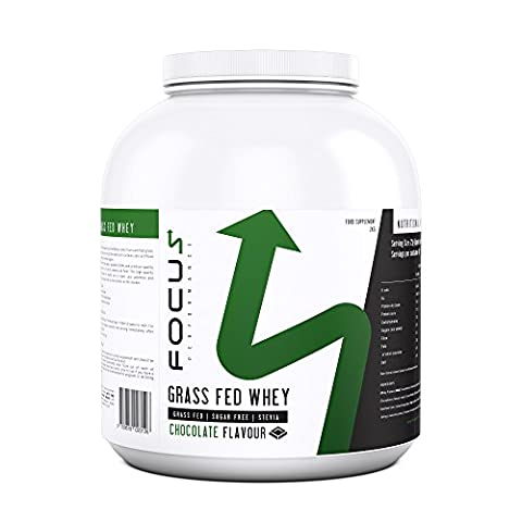 Grass Fed Whey (2kg) - High Quality Sugar Free Whey Protein Powder (Chocolate)
