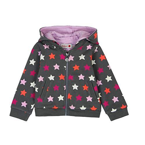 boboli Fleece Jacket For Baby Girl, Sudadera para Bebés, (Estrellas 9907), 74 (Tamaño del Fabricante:9M)