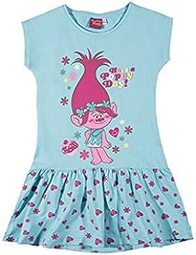Trolls - Vestido - Falda con peto - para niña